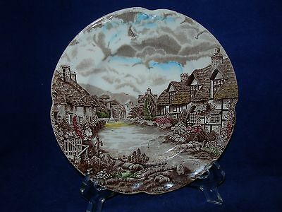 Johnson Brothers Olde English Countryside Bread Plate/s Brown Multicolored