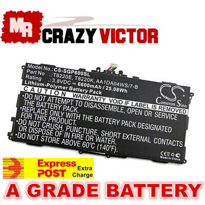 NEW Battery For Samsung Galaxy Note 10.1 SM-P600 P601 P605 T520 T525 T8220E