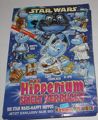 "Bpz Satz ""Happy Hippo Star Wars"""