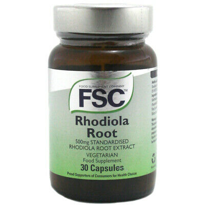FSC Standardised Rhodiola 500mg Root Extract