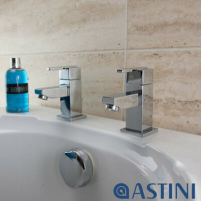Astini Wave Chrome Bathroom Bath Taps F003F