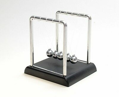 Newtons Cradle Executive Gadget Work Toy Office Desk Kinetic Balls New Home Gift