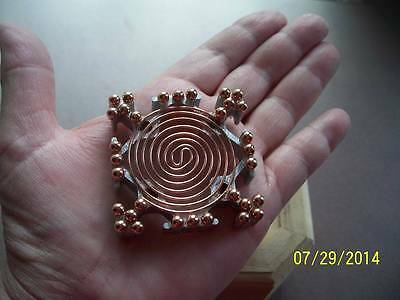 Ex Large Energy Generator Hot Plate Orgone Making Supplies Reiki Crystal Grid C