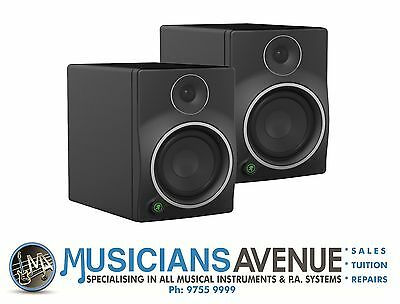 Mackie MR8 mk3 Studio Monitors PAIR! BRAND NEW! FREE DELIVERY AUSTRALIA WIDE!