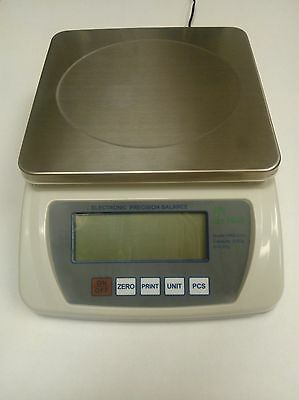 6000 x 0.1 GRAM Top Loader Digital Analytical Lab Balance Scale Counts