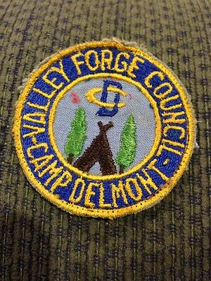 Older C/E Valley Forge Council Patch BSA Camp Delmont