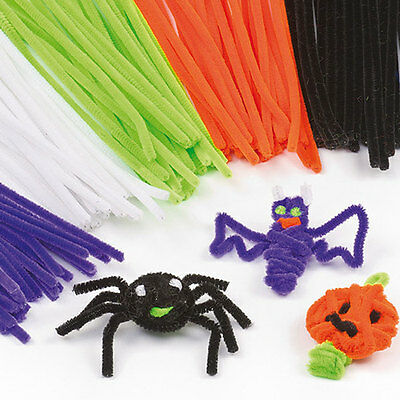 Lot de 100 Fils Chenille/ Pipe Cleaners/ Cure-Pipe Multicolore Jouet DIY