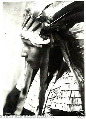 POSTCARD Cheyenne Daughter of Bad Horse Native American Indian Edward S. Curtis