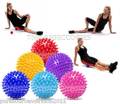 Trigger Point Skikey Spiky Massage Yoga Ball Roller Therapy Stress Tension Eases