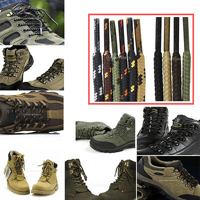 "1Pair Round Shoe Laces Shoelaces for Hiking Sports Sneakers Boots 47"" 10 Types"