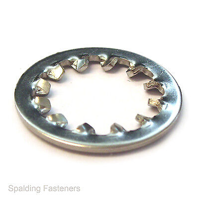 "Imperial A2 Stainless Steel Internal Serrated Shakeproof Washers - 3/16"" to 3/8"""