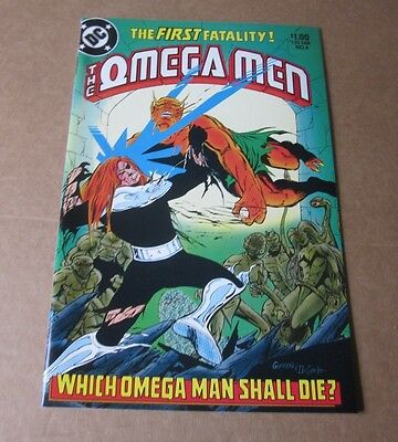 DC The Omega Men  # 4  July 1983    NM