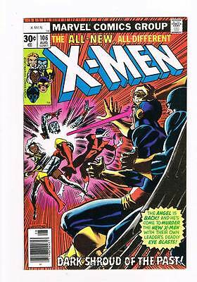 X-Men # 106  Dark Shroud of the Past ! grade 8.5 super scarce hot book !!