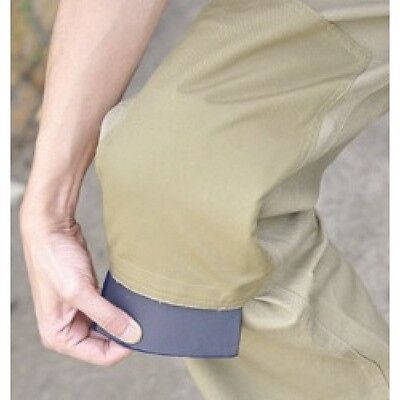 Waterproof Knee Pads for use in Work Pants Thick Durable Removable New!