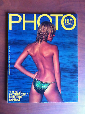 Photo HI FI Italiana n° 51 Settembre 1979 Cover: Erich Klemm  - E13118