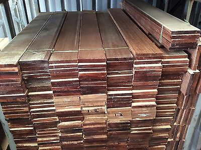 MERBAU DECKING 140x19mm 1.2m SET LENGTHS $5.80 p/m ONLY @  HUMECITYTIMBER