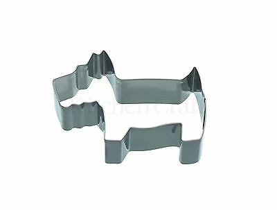 Kitchencraft Puppy/Dog Shaped Metal Biscuit/Cookie Cutter.Girls Home Baking