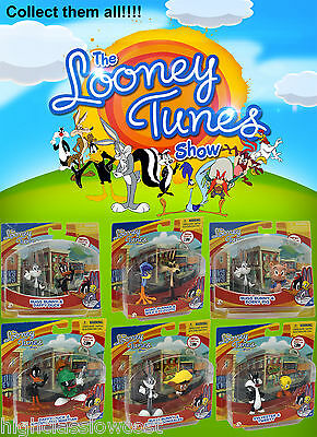 The Looney Tunes Show Collectible Figures TwinPack. Choose your favourite NEW UK