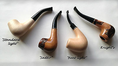 Lovely Hand Carved/tobacco/smoking Pipe/natural Wood/various Designs Available