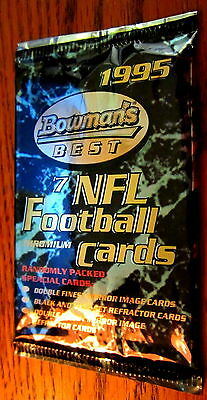1995 Bowman's Best Unopened football pack Curtis Martin McNair Sapp Rookie RC ??