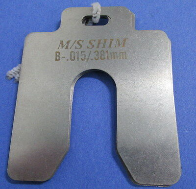 Slotted Shim B-.0015/.381Mm Lot Of 18