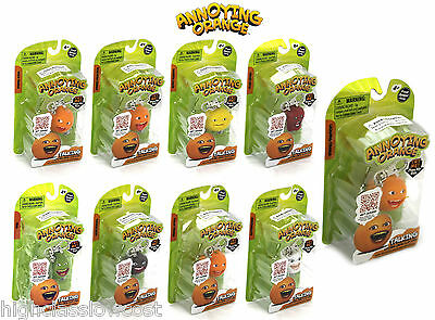 Annoying Orange Keyring Talkin Pack. Choose your favourite or collect the set!
