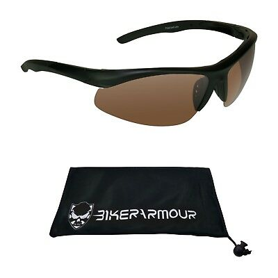 Blue Blocker HD Vision TR90 Polarized Sunglasses for Golf Cycling Fishing Sports