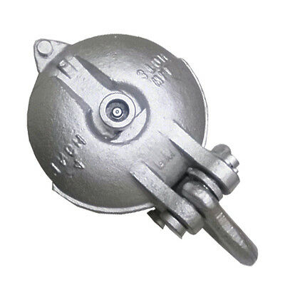 """Snatch Block, Yarding Block Wire rope cable pulley for 3 Tons - 4"""""""