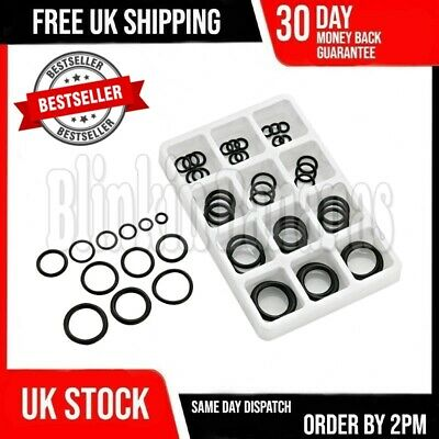 50PC Assorted Plumbing Plumber Diy Rubber Tap Sink Seals Washers O ...