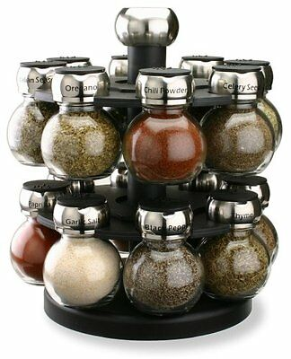 Olde Thompson Orbit 16 Jar Spice Rack