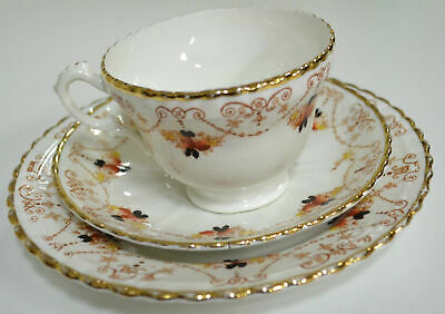 Royal Albert (T C Wild) 3760? Trio, Cup Saucer & Plate (#28) circa 1917 Estate