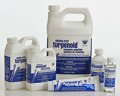 Turpenoid Odourless - Artists Turpentine Substitute  118ml, 236ml, 473ml