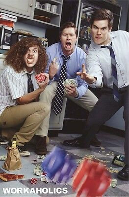 WORKAHOLICS POSTER ~ DICE 24x36 TV Blake Anderson Adam DeVine Anders Holm