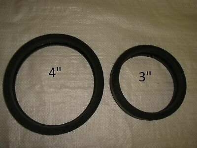 """3""""/4"""" Soft Rubber Gaskets for Concrete Pumps-Pack of 12"""