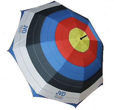 New 110cm JVD Archery FITA Target Umbrella Brollie Recurve Compound Bow Quiver