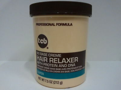 [Tcb] No Base Creme Hair Relaxer With Protein And Dna *super* 7.5Oz