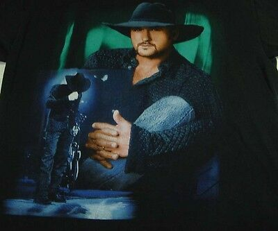 TIM MCGRAW A PLACE IN SUN CONCERT TOUR TEE T SHIRT Sz Mens L Country