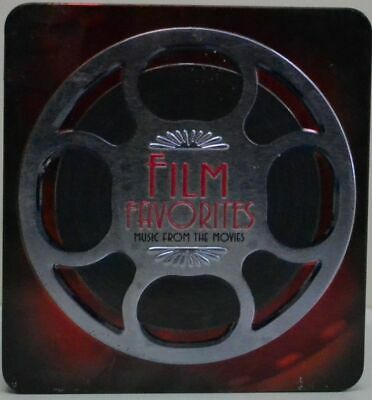 Film Favorites 3 CD Box Set (In Tin Box) As New With Booklet