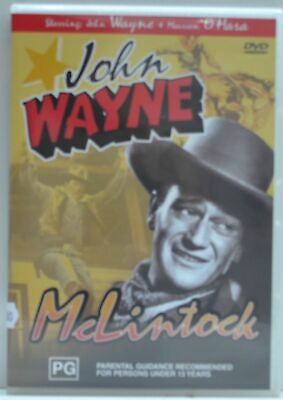 Mclintock starring John Wayne and Maureen O'Hara on DVD, Excellent Condition