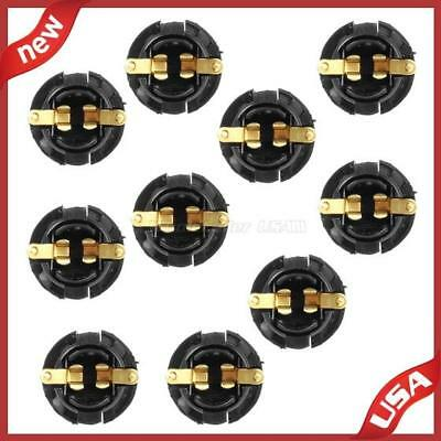 10pcs 168 194 2825 Twist IN Sockets 5/8'' Hole For Instrument cluster dash light