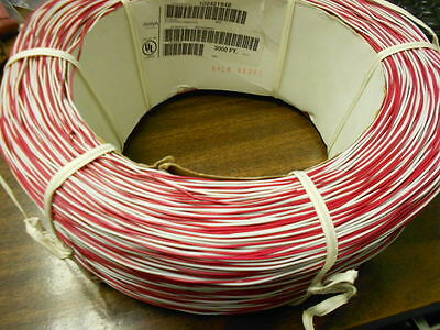 Avaya 2C/22 Cross Connect / Jumper Wire 22AWG Red White 3000Ft
