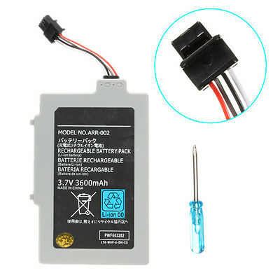 3600mAh 3.7V Rechargeable Extended Battery Pack for Nintendo Wii U Gamepad