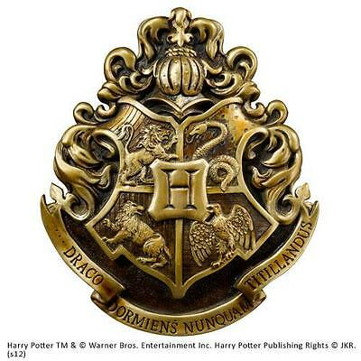 Harry Potter: Official Warner Bros Hogwarts Coat Of Arms Wall Plaque New In Box