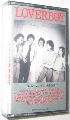 Lovin' Every Minute of It by Loverboy Cassette Aug-1985 Columbia Free Ship U.S.A
