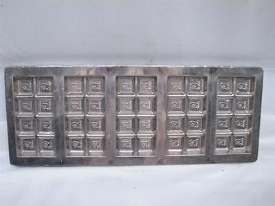 Vintage Loft's of New York Chocolate Bar Mold Candy Logo Candybar Confectioner's