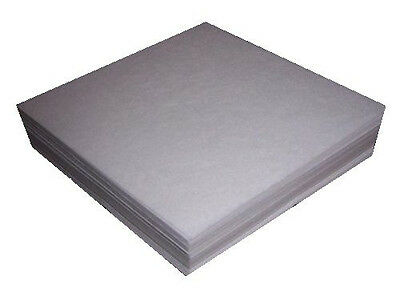 """Cut-Away Machine Embroidery Stabilizer Backing 8x8"""" Precut Sheets Fits 4x4 Hoops"""