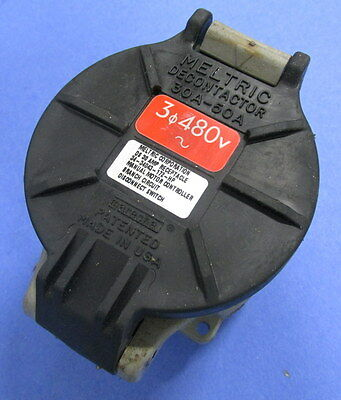 Meltric Decontactor 30 Amp Receptacle 34-34043-172-Hp *Pzb*
