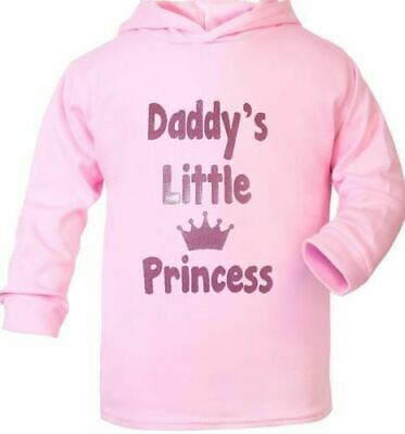 Daddy's Little Princess Cute Present Baby New Born Gift  Supersoft Baby Hoodie