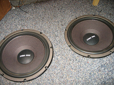 12 Inch Woofers with Rubber Surrounds-RSC ?