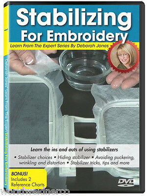 Designs in Machine Embroidery DIME Learn From the Expert Volume 1: Stabilizing